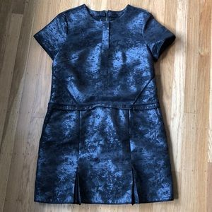 All Saints chinoiserie brocade dress